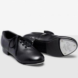 Capezio Fluid TeleTone Tap Shoes BNIB Black 8.5